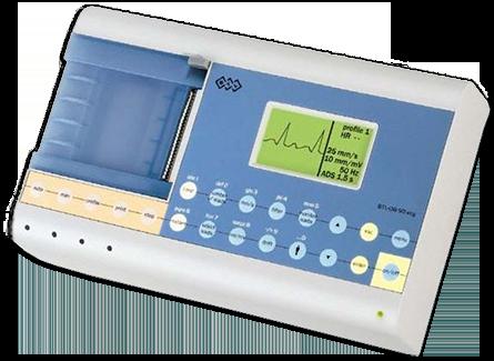 an image of ECG machine